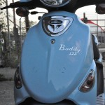 2009 Genuine Buddy 125, Blue Front