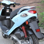 2009 Genuine Buddy 125, Blue Back